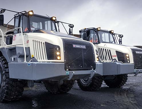 Terex Trucks to showcase new aticulated haulers at Hillhead Digital 2021