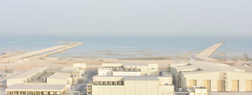Artificial Intelligence project at the Umm Al Houl desalination plant