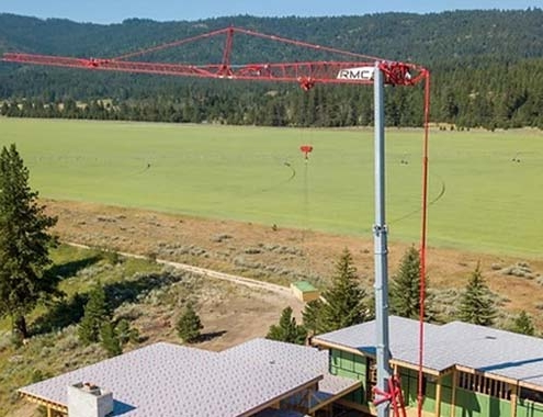 Potain self-erecting cranes: the next generation in homebuilding