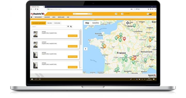 Haulotte introduces its own SHERPAL telematics solution