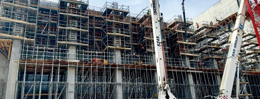 MK Shoring System in the construction of the Waste Conversion Plant