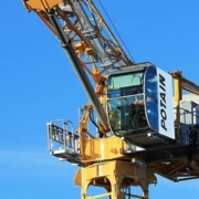 Hydraulic technology gives Potain luffing jib cranes a boost