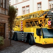 The new MK 73-3.1 mobile construction crane from Liebherr