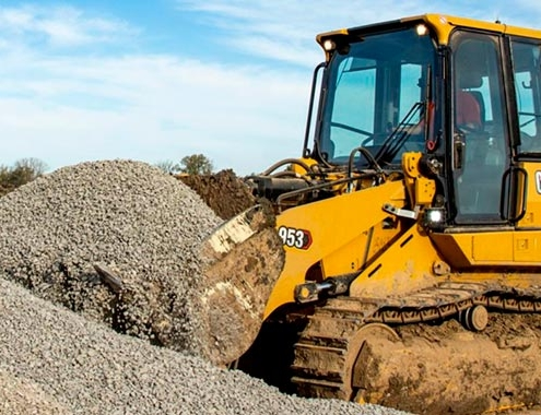 Cat 953 Track Loader, Fuel & Productivity Improvements