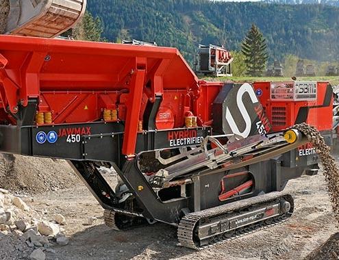 SBM presents new crushing plants JAWMAX 400/450 - REMAX 450