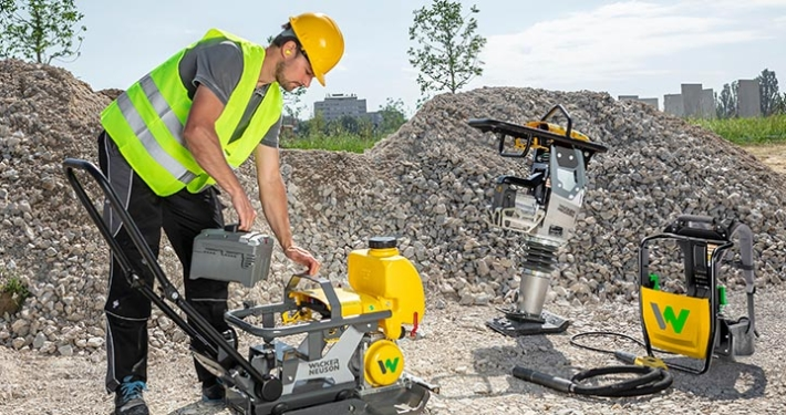 Wacker Neuson shares battery platform with cooperation partner