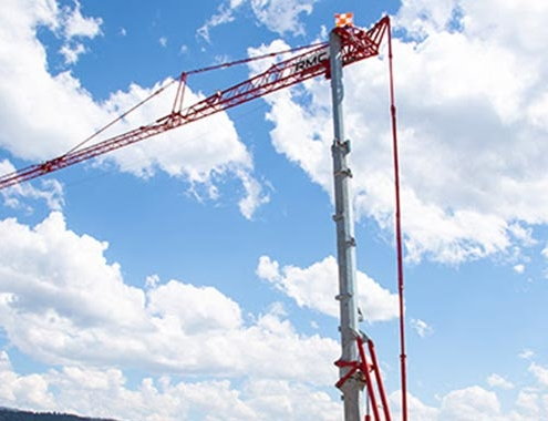 U.S. contractors reap benefits with Potain self-erecting tower cranes