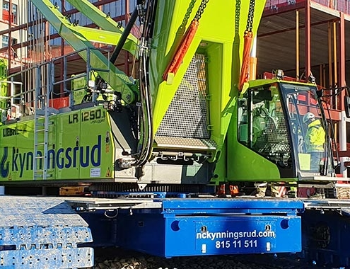 The future for the crane industry is emission free, LR1250.1