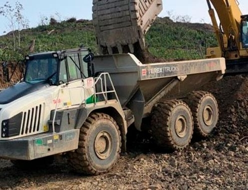 Terex Trucks TA400s prove unstoppable in tough Russian mine