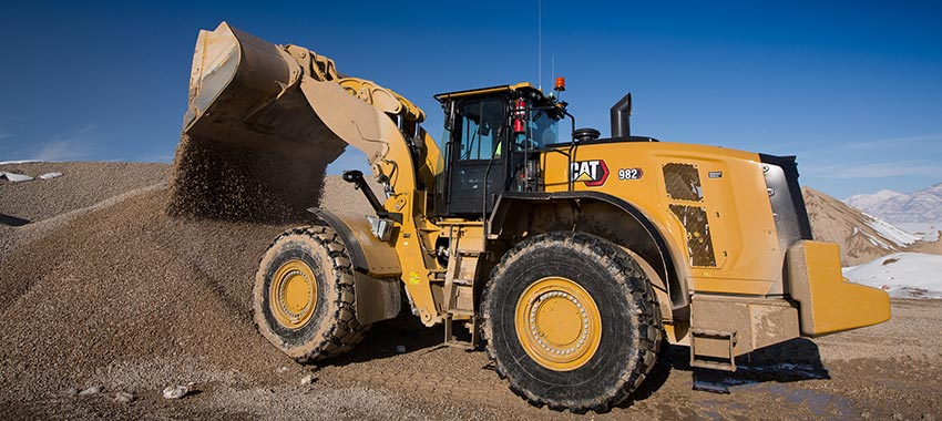 New Cat® 980 and 982 series wheel loaders - 2