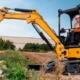 New Cat® 302.7 CR, 303 CR and 303.5 CR hydraulic mini excavators