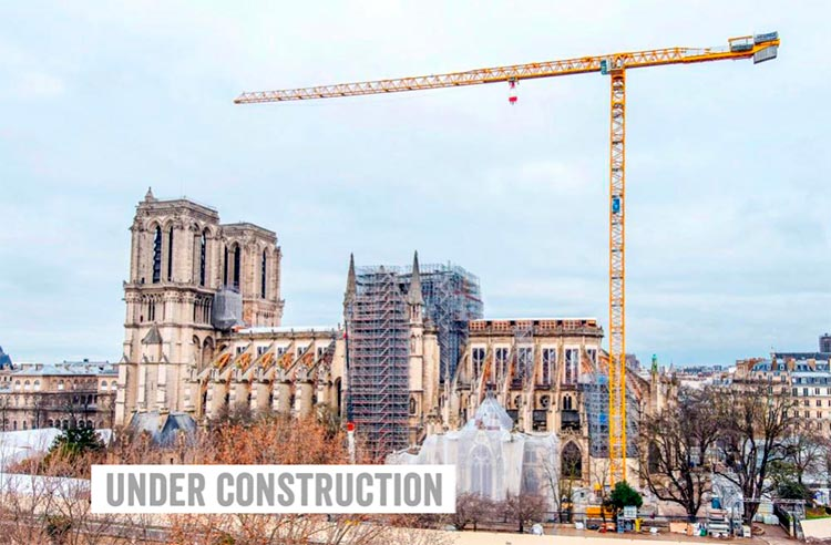 Six of the best – places of worship - Notre Dame