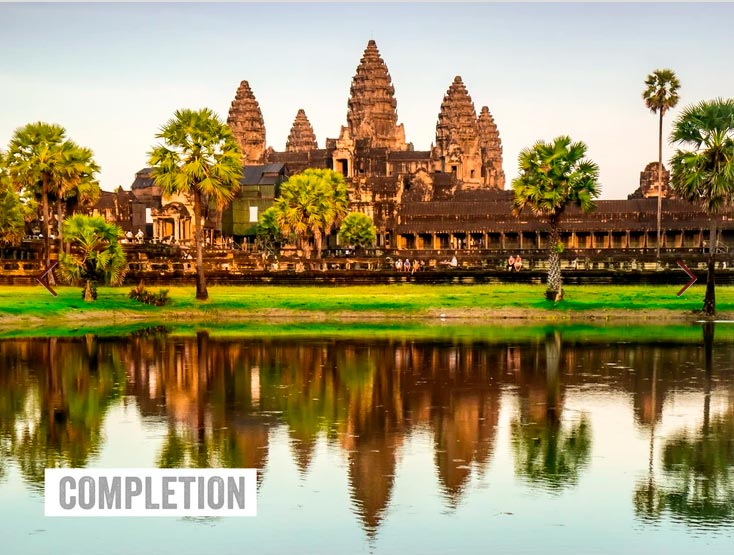 Six of the best – places of worship - Angkor Wat