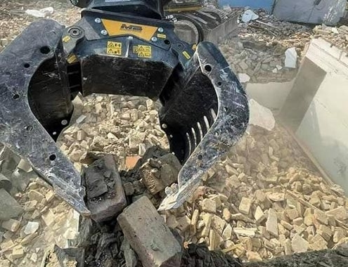 With a lack of raw materials, your solution comes from debris