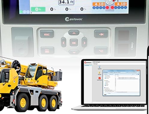 How to use the Data Logger in Grove all-terrain cranes