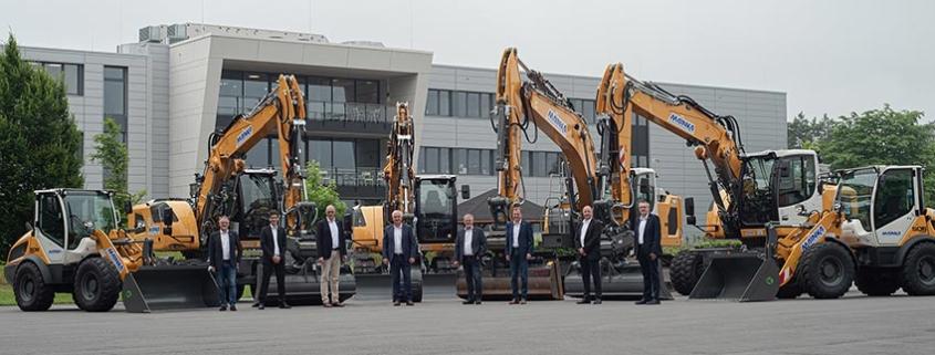 50th Liebherr machine delivered for Mainka