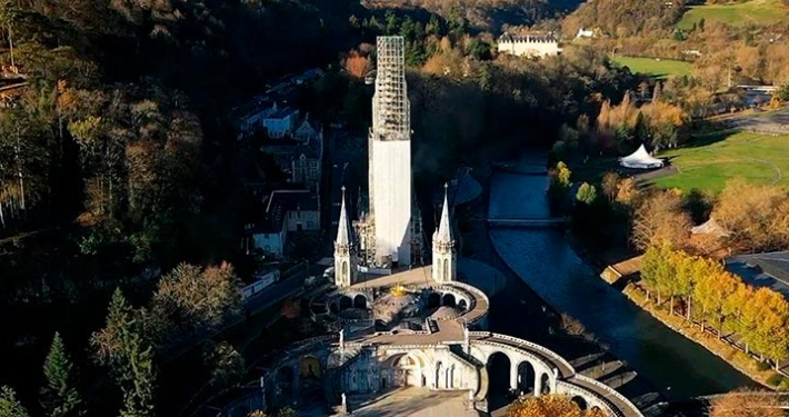 Restoration work of the Sanctuary of Lourdes