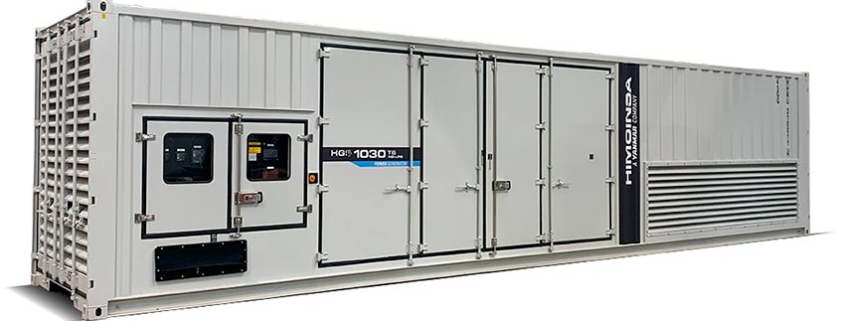 HIMOINSA HGS-1030 NG/LPG generator. Mobile, silent and low OPEX