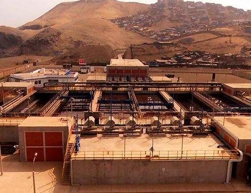 La Chira WWTP in Peru, has been operational for five years