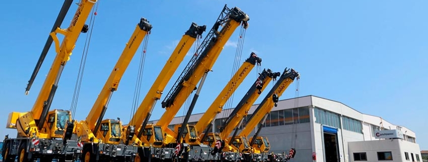 Manitowoc started Grove rough-terrain crane production in Italy