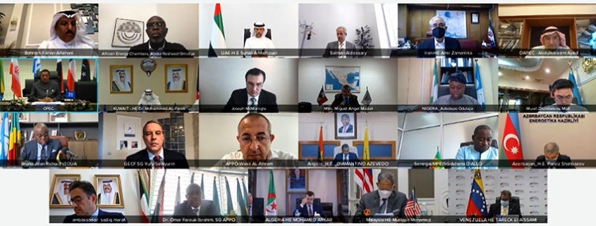 GECF joins OPEC Ministerial Roundtable on Energy, Climate and Sustainable Development