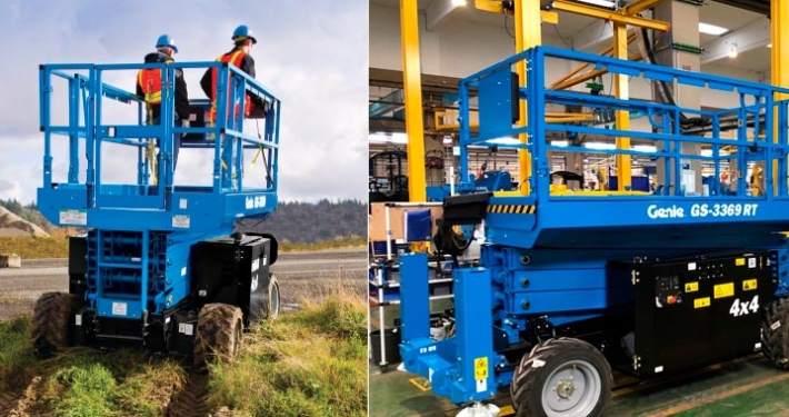 Genie Adds Production of GS™-2669 RT and GS-3369 RT lifts in Europe