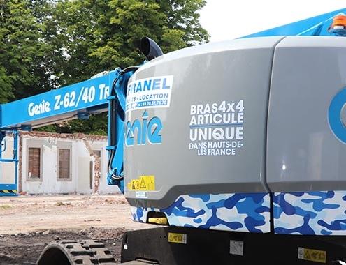 Genie® Z-62/40 TRAX™ helps meet very specific needs
