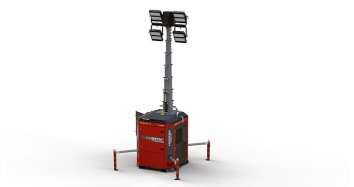 HBOX+, the new HIMOINSA lighting tower