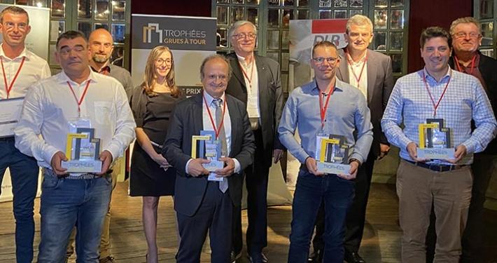 Potain wins big at 2021 Tower Crane Awards in Paris