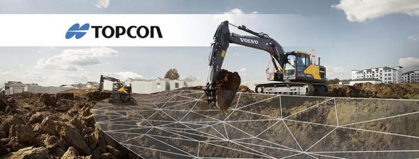 Integration of Topcon 3D-MC with Volvo Active Control raises the bar in excavation precision